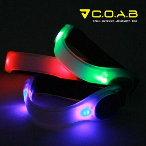 COAB LED 암밴드-그린  색상3종 상품이미지