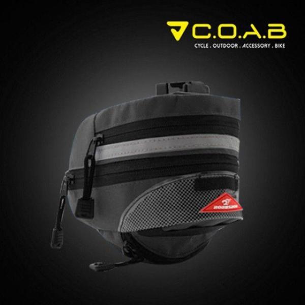COAB 후미등 안장가방(확장형)-블랙 상품이미지