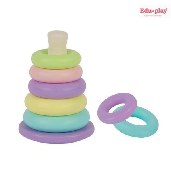 쿠쿠 링쌓기 링끼우기 고리끼우기 장난감 유아 아기 상품이미지