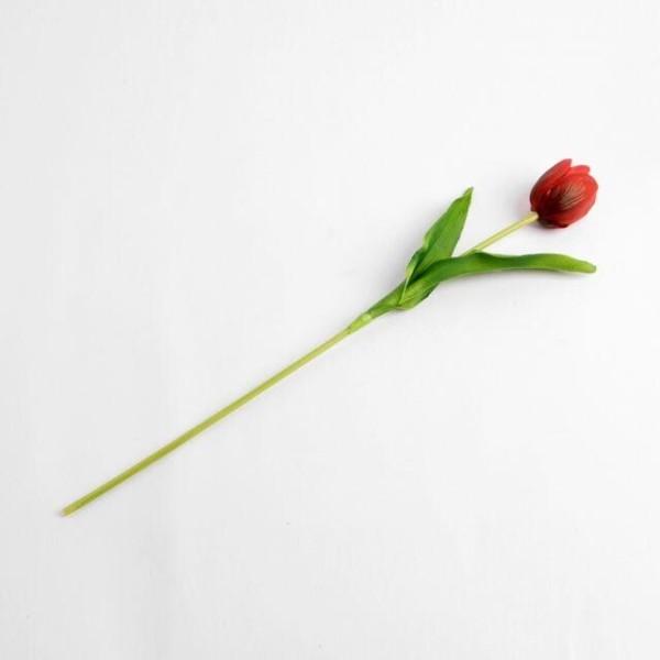 튤립 조화 레드 조화꽃 성묘조화 산소꽃 실내조경 상품이미지