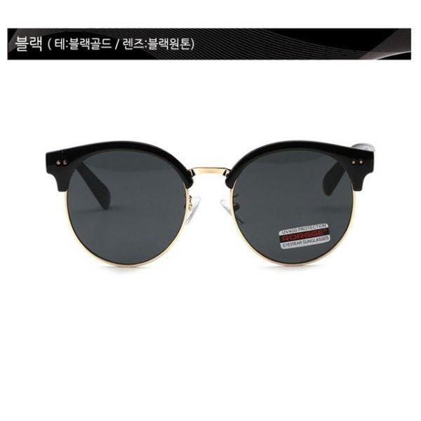 여성 동그란 미러 썬글라스 여자 원형 선글라스 VP5 상품이미지
