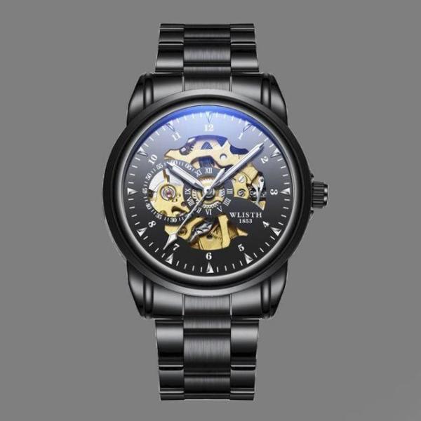 Ollin 원형 다기능 다이얼 손목시계 STW-1417/가죽 상품이미지