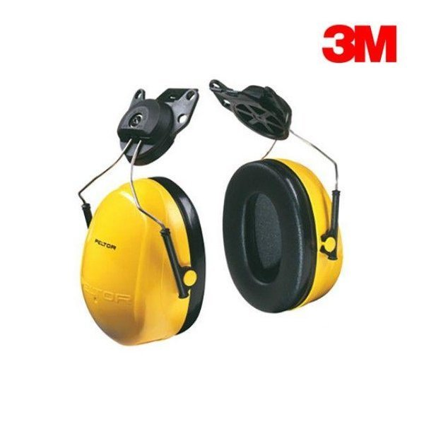 3M귀덮개 귀마개 헬멧부착형 청력보호구 H9P3E 상품이미지