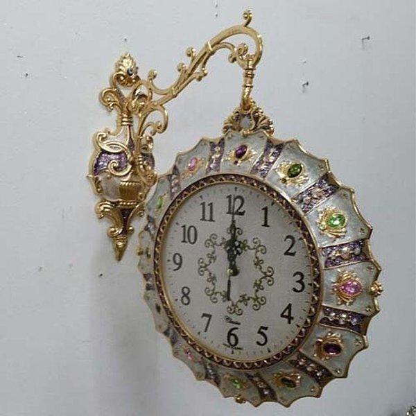 큐빅양면시계주물시계인테리어시계 상품이미지