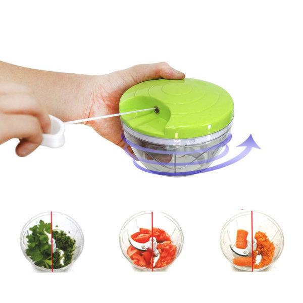 이지스핀커터 야채다지기 수동믹서기 마늘다지기 상품이미지