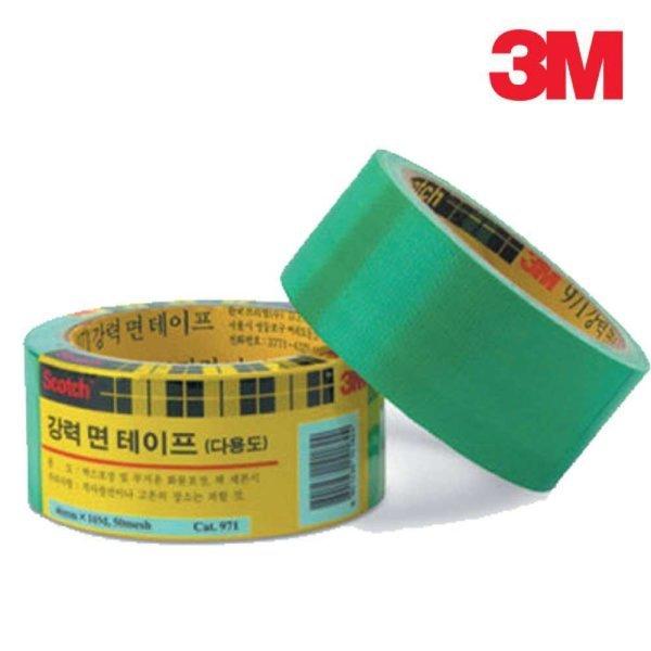 3M 스카치 강력 면 테이프 971 청테이프 천면테이프 상품이미지