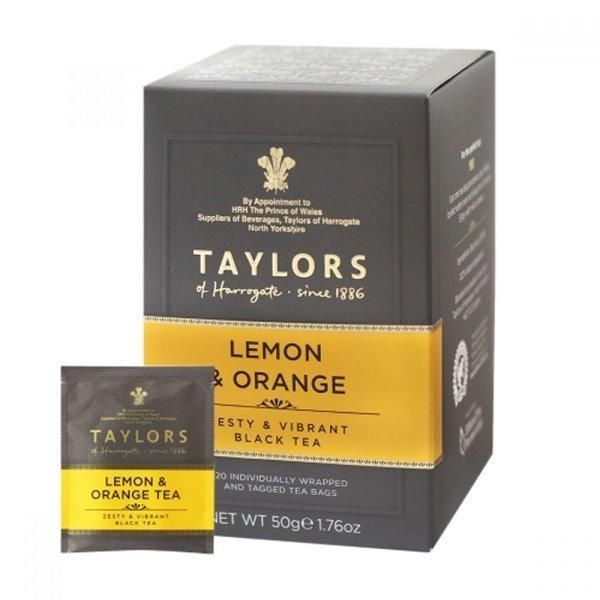 레몬 오렌지 홍차 20티백 harrogate 상품이미지