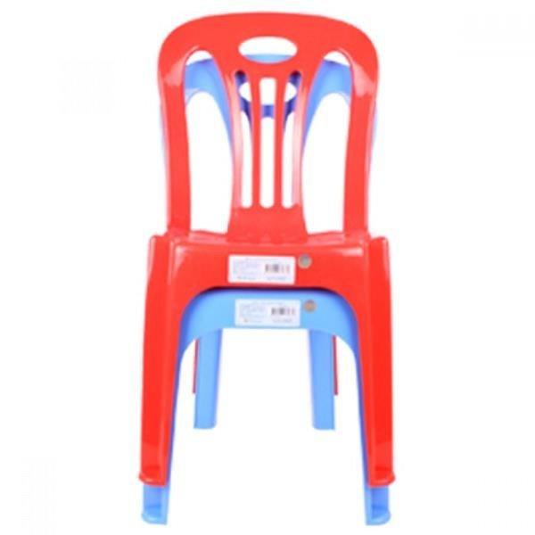 솔리드 등받이 의자(색상램덤)25x28x58cm 상품이미지