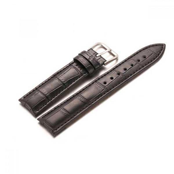 고급 가죽 클래식 시계줄 일반형 블랙 상품이미지