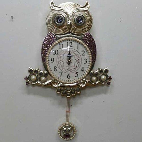 부엉이가족벽시계인테리어시계부엉이시계 상품이미지