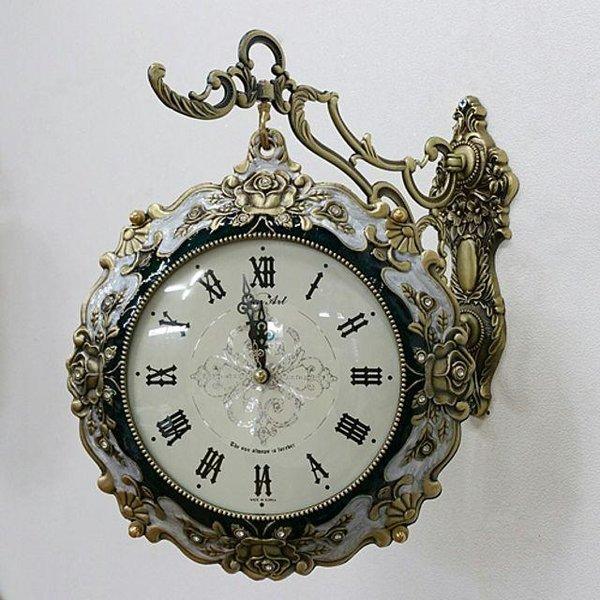 장미양면시계시계거실시계인테리어시계 상품이미지