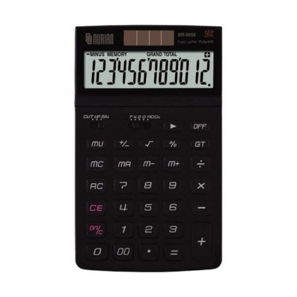 누리안 계산기 NR-805K 블랙 12자리 MO 상품이미지