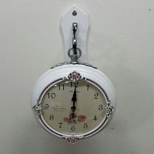 장미소양면시계거실시계소형시계 상품이미지