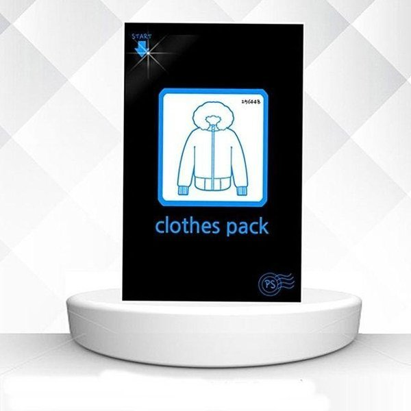 다용도 멀티 빅사이즈 압축팩(블랙-블루) 여행용 의 상품이미지