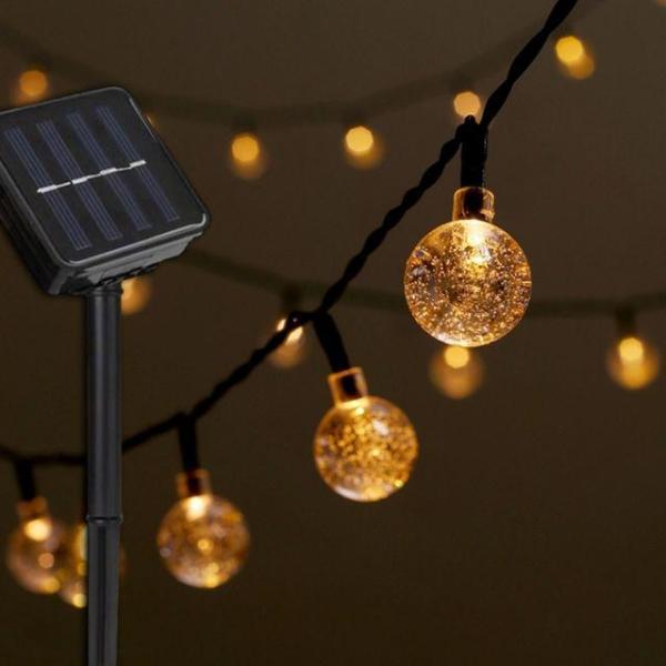 Coms 태양광정원등가든램프(LED전구색) 상품이미지