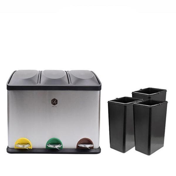 분리수거함 2p/쓰레기 재활용 가정용 쓰레기통 휴지 상품이미지