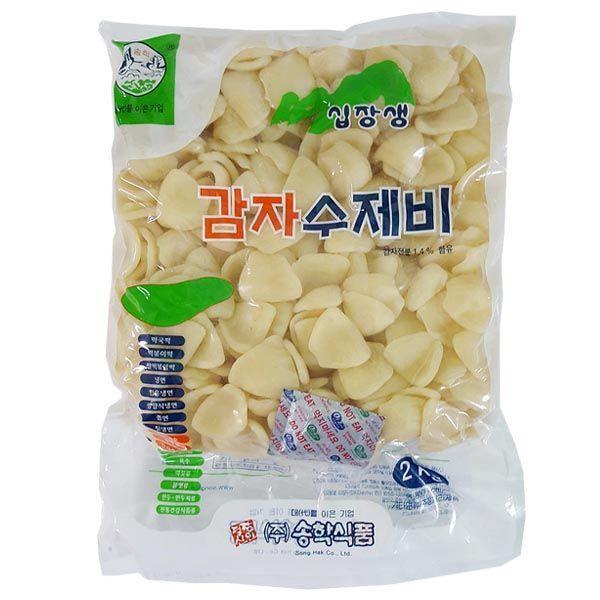 DS030/송학 감자수제비 2kg 상품이미지