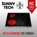 써니테크 하이브리드 3구 하이라이트/인덕션 ST-300IH