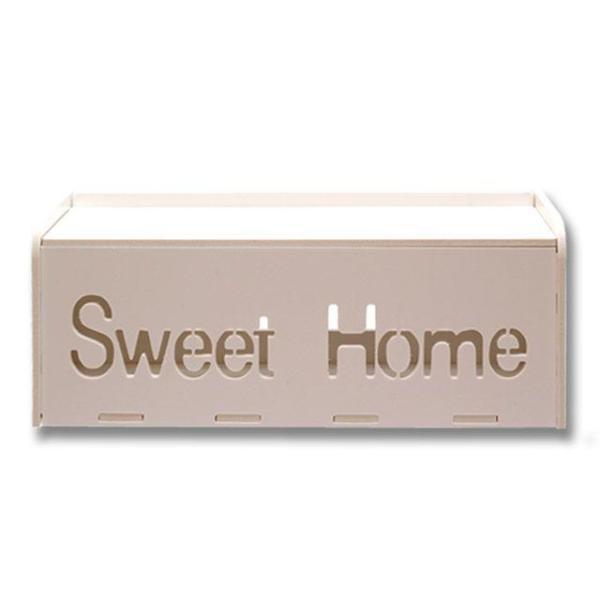멀티탭 전선 정리함 대형 Sweet Home 상품이미지