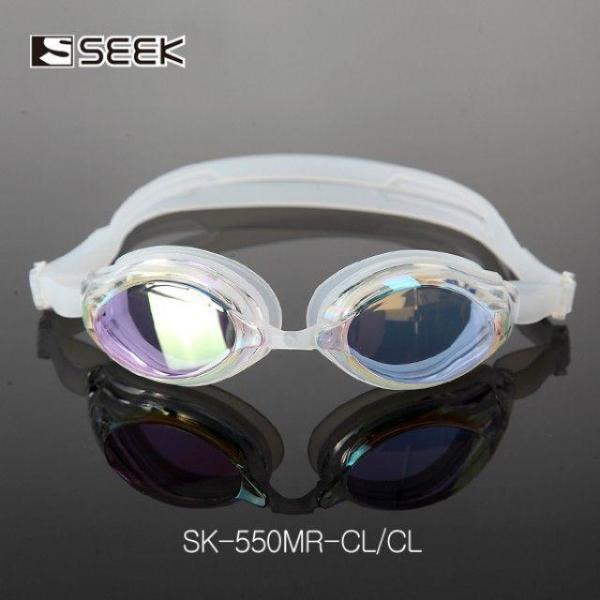 SEEK UV차단 안티포그 미러코팅 물안경 SK-550MR/CL 상품이미지