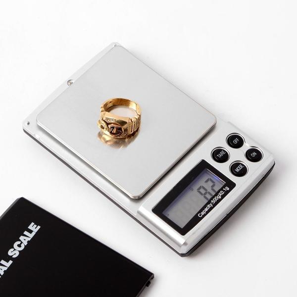 FC 휴대용 전자저울(500gx0.1g) 정밀저울 전자저울 상품이미지