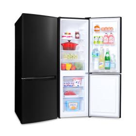 콤비냉장고 161L 미니 원룸 블랙 소형 냉장고 161BBK