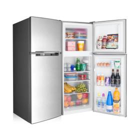 소형냉장고 138L 사무실 미니 예쁜 일반 냉장고 메탈BL