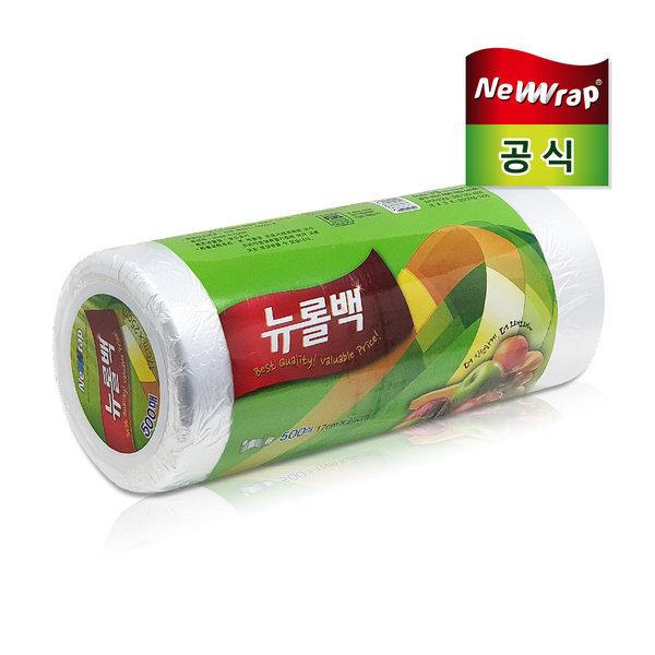 뉴랩 롤백 소형500매 /위생백/뉴백/크린백/비닐백 상품이미지