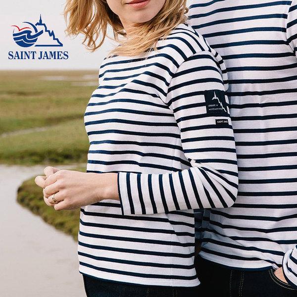 세인트제임스 여성 티셔츠 밍콰이어 레반트  마린룩 상품이미지
