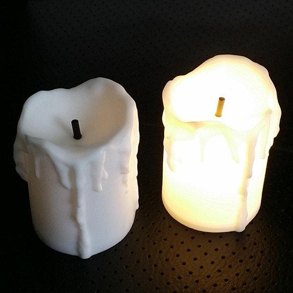 미니 LED촛불 전자양초 장식조명 12P세트 상품이미지