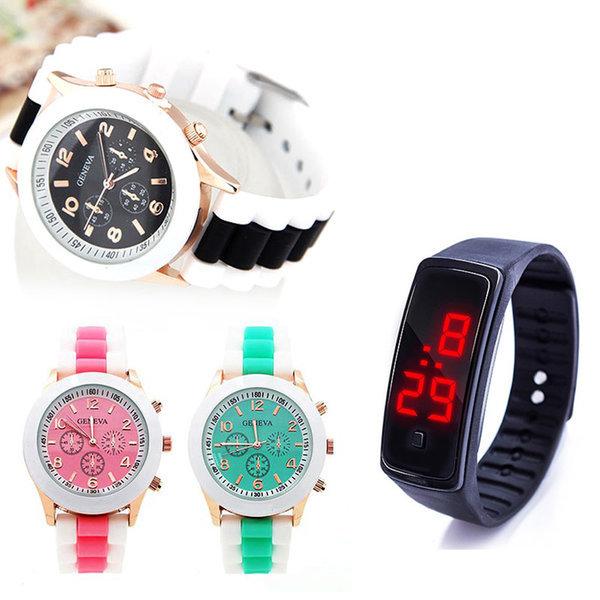 LED젤리시계/패션시계/스포츠밴드/손목시계/시계 상품이미지
