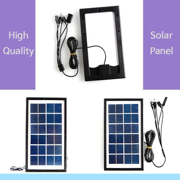 휴대용 태양열 광 충전기 / USB 야외 캠핑 스마트폰 상품이미지