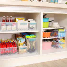 칸칸 정리수납트레이 높은형 냉장고정리트레이