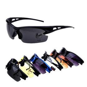 스포츠 선글라스 자외선차단 고글 자전거 남녀공용
