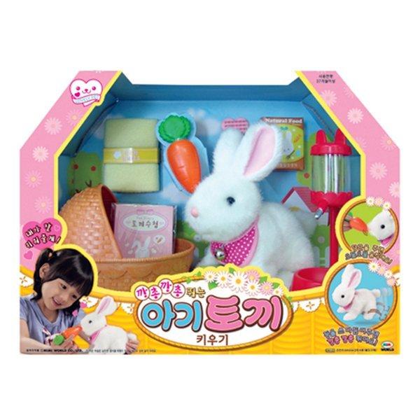 2 미미월드  깡총깡총 아기토끼 키우기 토끼인형 상품이미지