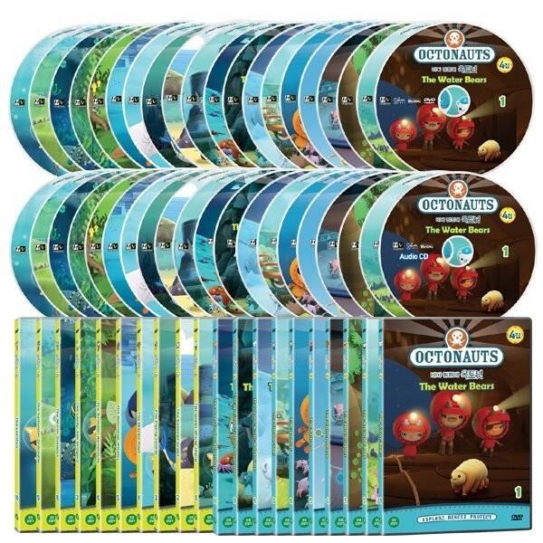 바다탐험대 옥토넛 OCTONAUTS 3+4집 40종세트 상품이미지