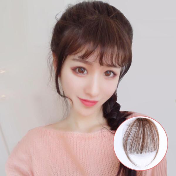 앞머리가발 100%인모 시스루뱅 부분가발 가발 상품이미지