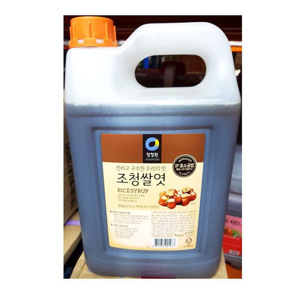 황물엿 (대상 5K)-황물엿 맥아물엿 조청 상품이미지