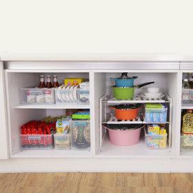 칸칸 정리수납트레이 특대형 냉장고정리트레이