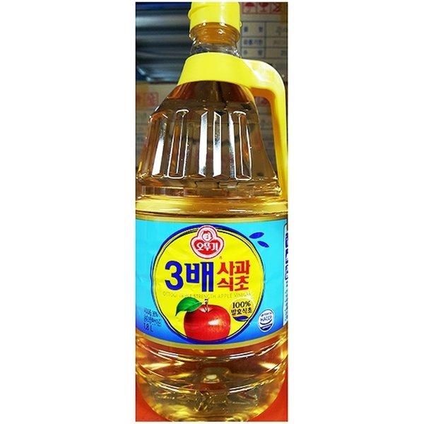 3배 사과식초 (오뚜기 1.8L) X6-3배사과식초 사과식초 상품이미지