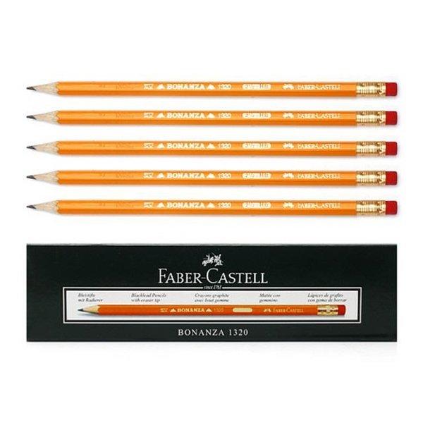 파버카스텔 12개입 보난자 HB 지우개 연필 18.5cm 상품이미지