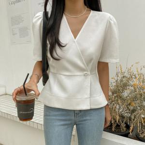 시크릿라벨 여름신상 블라우스/린넨/셔츠