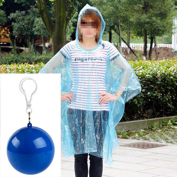 휴대용 가방고리 우비 비옷 일회용 캠핑 여행용 낚시 상품이미지