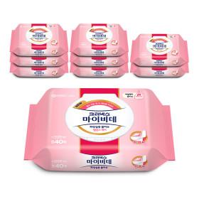 마이비데 레이디캡 42매x9개/물티슈/화장지/휴지