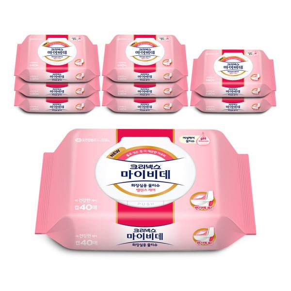 마이비데 레이디캡 42매x9개/물티슈/화장지/휴지 상품이미지