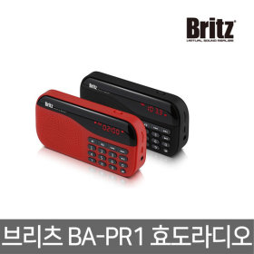 브리츠 BA-PR1휴대용/효도 라디오/FM/MP3/스피커 블랙