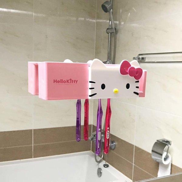 키티 카페 칫솔 케이스 꽂이 욕실 용품 소품 욕조 상품이미지