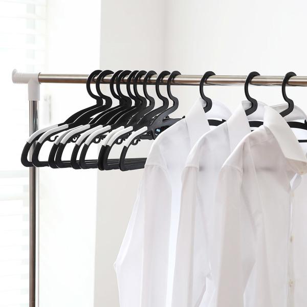 리벤스 논슬립옷걸이100개(블랙) 상품이미지