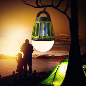 [캠프365]2in1해충킬러 LED 캠핑랜턴 해충 모기퇴치기 캠핑용품