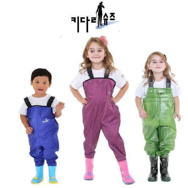 어린이가슴장화/아동/낚시/해루질/갯벌체험/캠핑모자 상품이미지